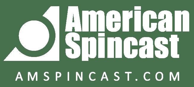 American Spincast White Logo, Centrifugal Casting